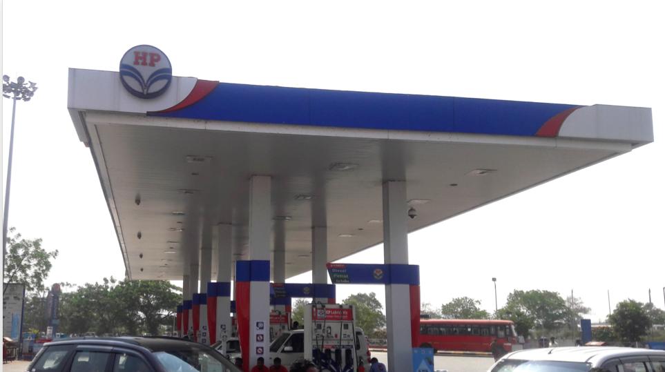 HPC Petrol Station, India