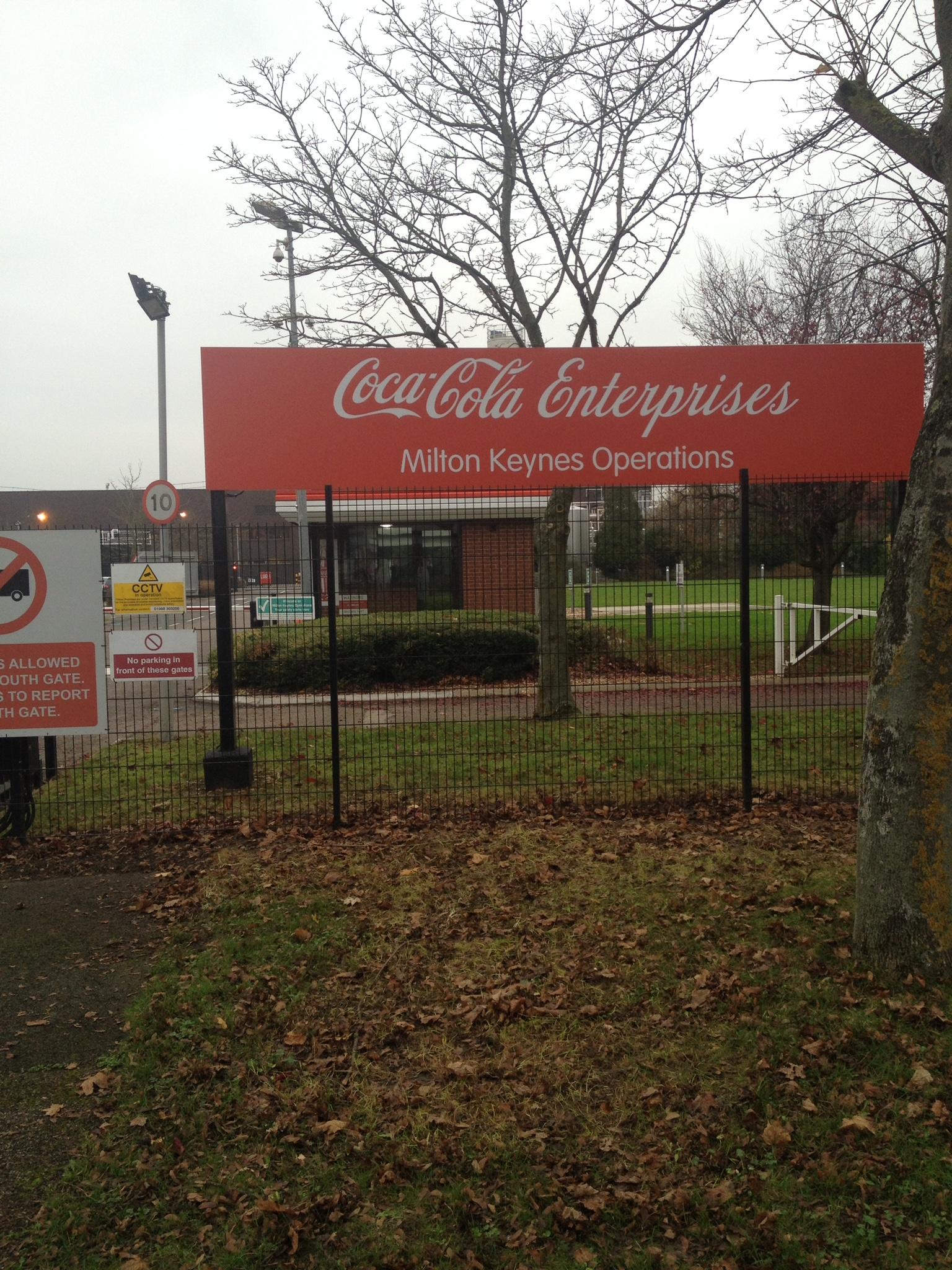 Coca-Cola Enterprises, London, UK