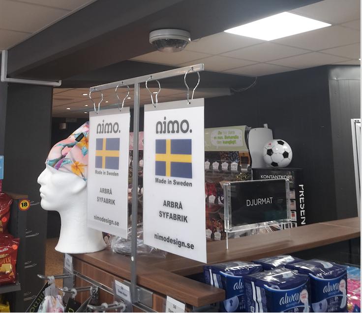 Nimo store, Sweden