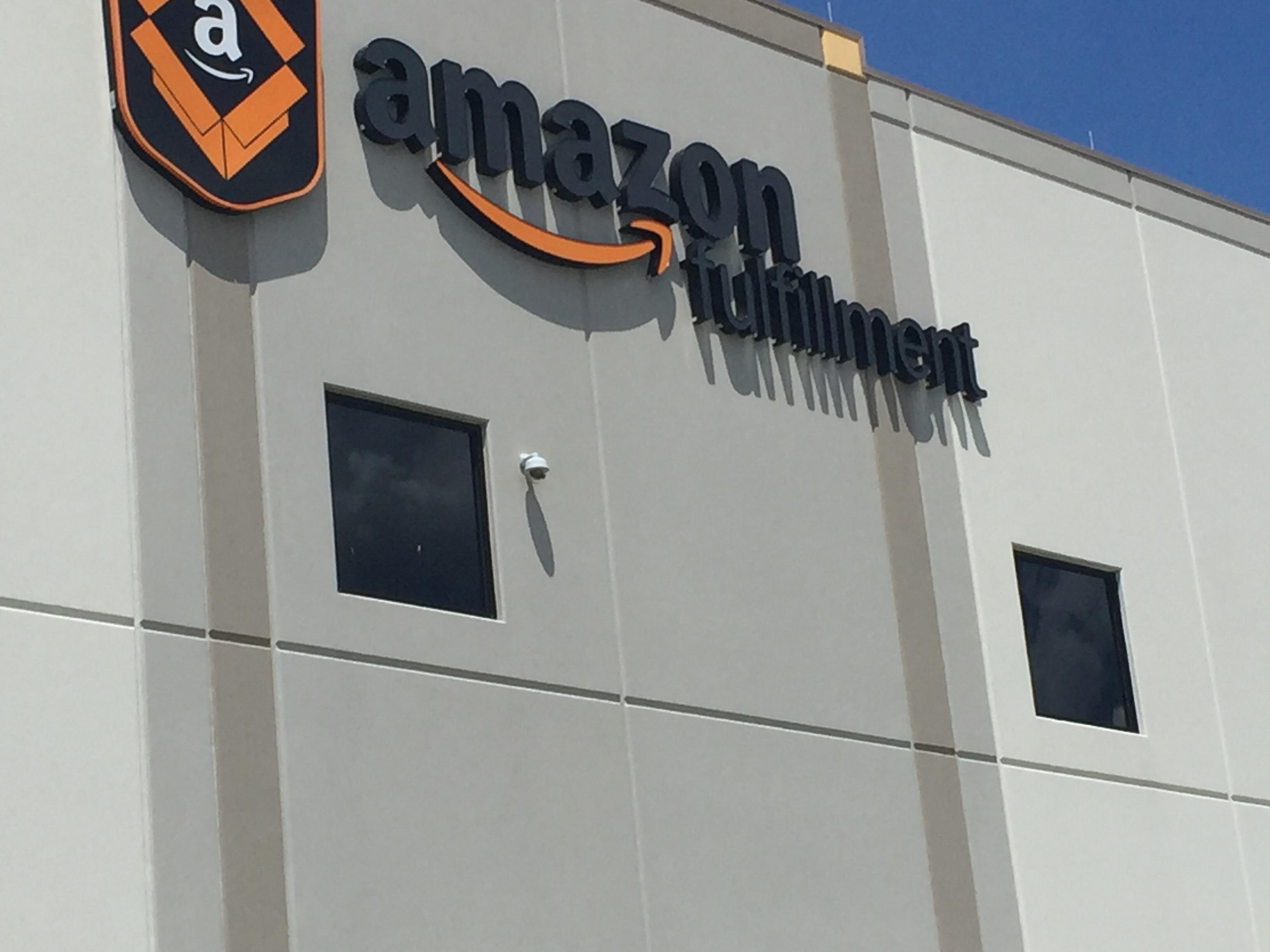 Amazon fulfillment center, Coppell, TX