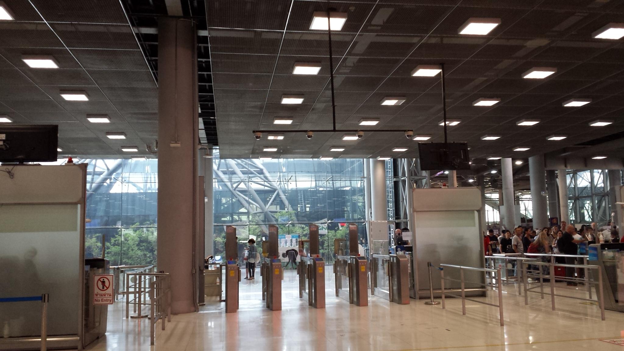 Suvarnabhumi Airport, Bangkok, Thailand