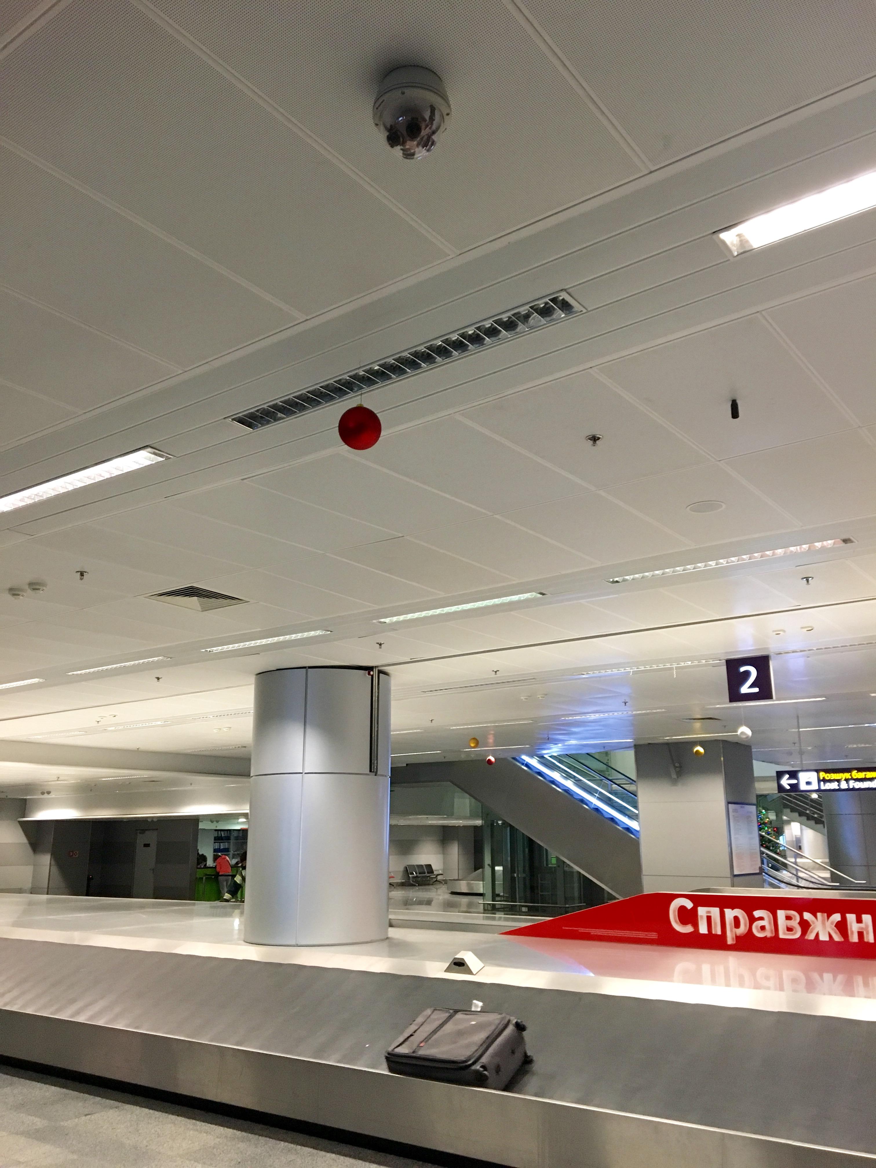 Boryspil International Airport, Kiev, Ukraine
