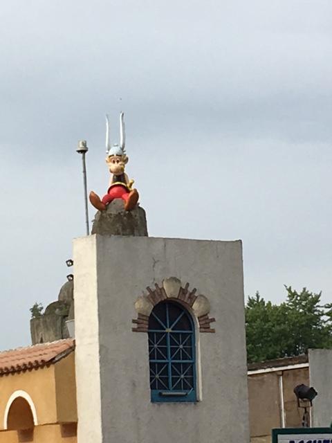Parc Asterix, outside Paris, France