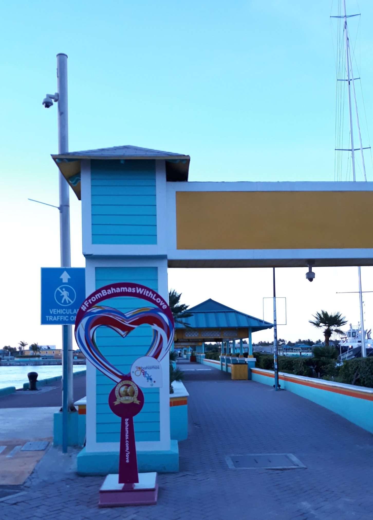Prince George Wharf Cruise Terminal, Nassau, Bahamas
