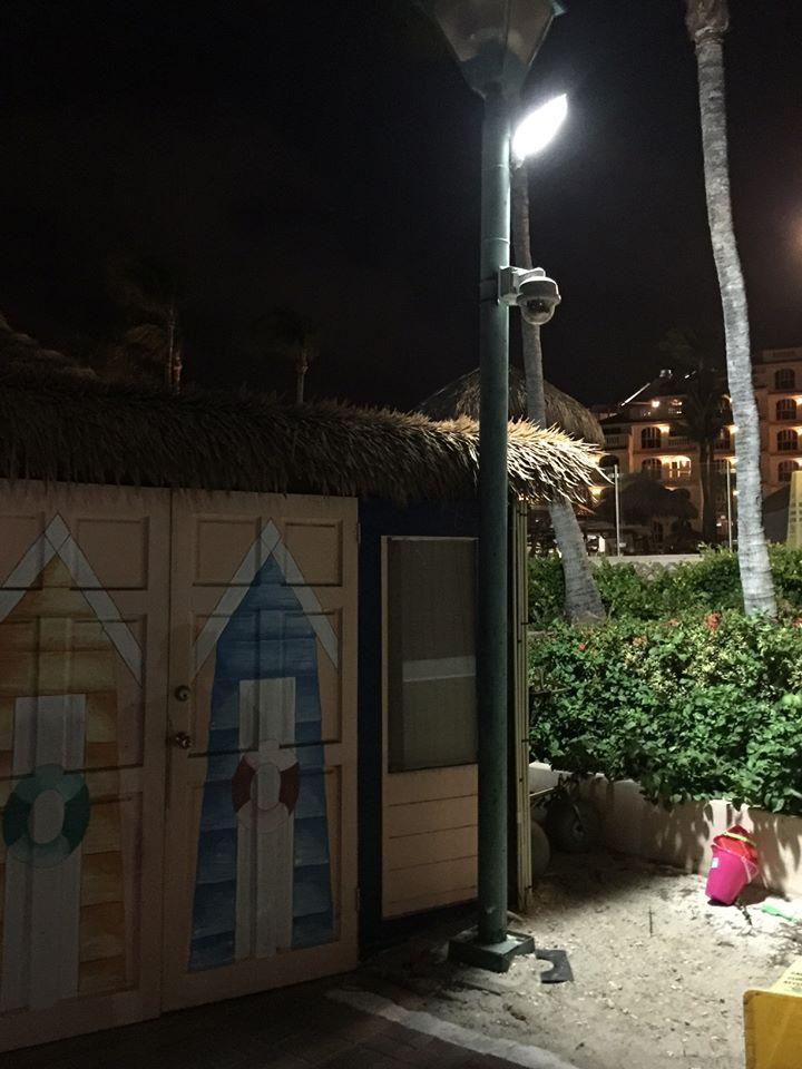 Beach boardwalk, Aruba