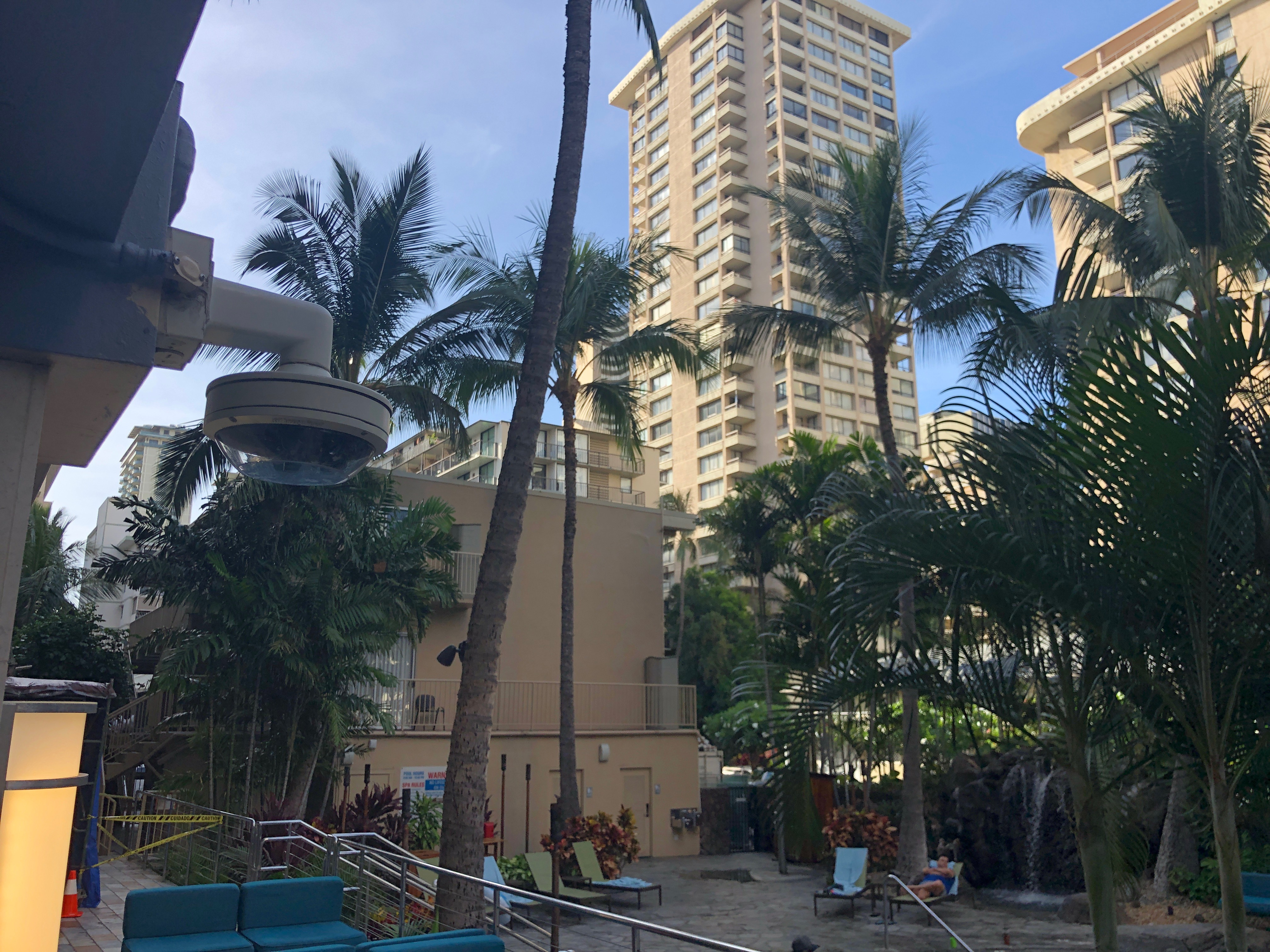 Courtyard Marriott Hotel, Waikiki, Honolulu, Hawaii