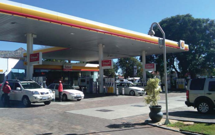Shell Gas Station, Johannesburg, South Africa